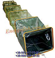 Садок прорезиненный квадратный 2.50м x30x40см.