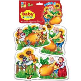 Беби пазлы Vladi Toys Сказки Репка 4 шт. (VT1106-34)