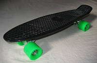 Скейт Пенни борд MS 0848-1 (Penny board), 55,5-14,5 см, черный