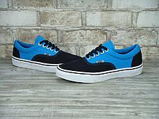 Женские кеды Vans ERA Black/Light Blue, Женские кеды, ванс, фото 2