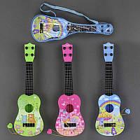 Гитара 77-02 D (96/2) 3 цвета, в чехле