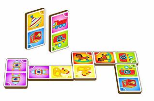 Игра «Домино - игрушки», арт. 095104