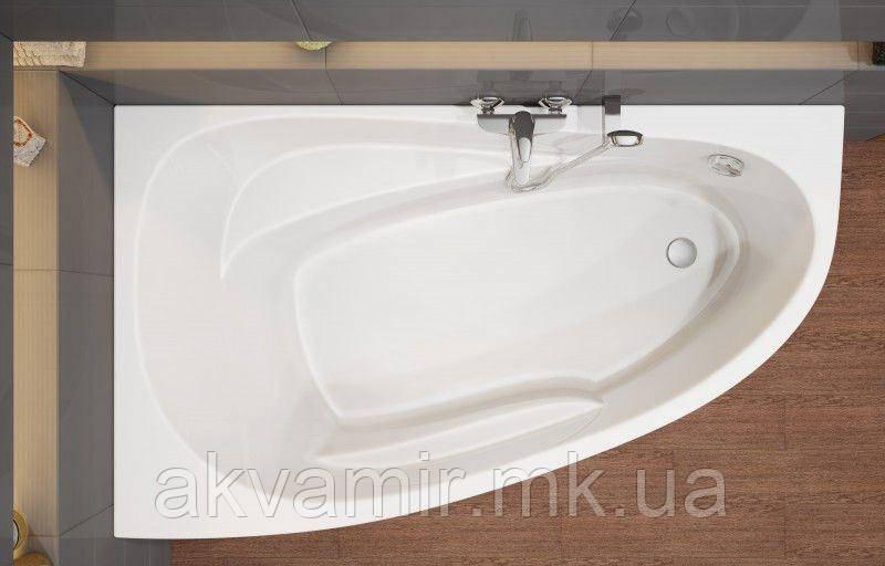 Ванна акрилова асиметрична Cersanit JOANNA NEW 150X95 ліва з ніжками