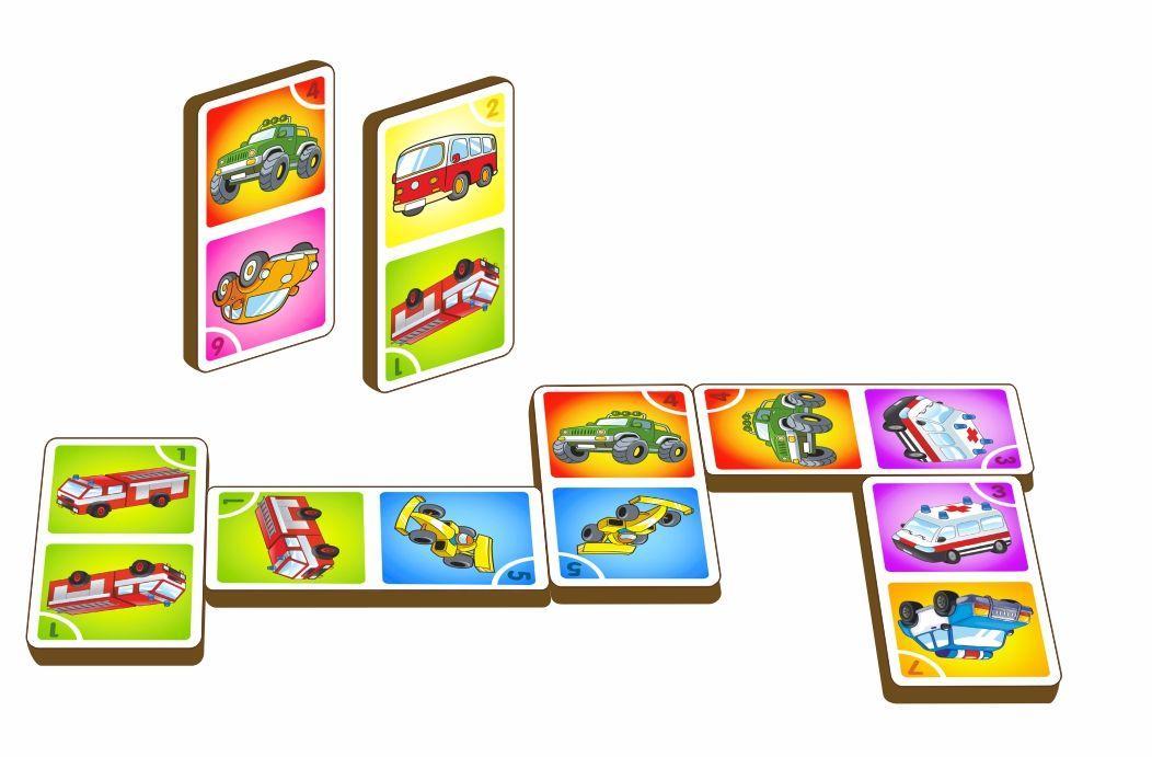 Игра «Домино - машины», арт. 095103