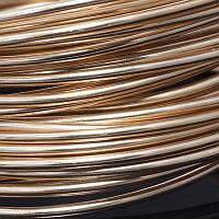 Алюминиевая Проволока 2мм/12м, Цвет: Медный, Толщина 2мм, около 12м/моток, (УТ0011249)
