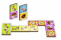 Игра «Домино - домашние животные», арт. 095102
