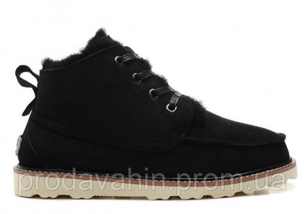 Ботинки UGG David Beckham Boots Black оригинал