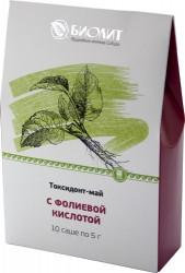 Токсидонт-май с фолиевой кислотой (беременность, варикоз, анемия, интоксикация, варикоз, геморрой, запоры)