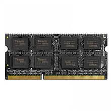 Память SO-DIMM, DDR3, 8Gb, 1600 MHz, Team Elite, 1.35V (TED3L8G1600C11-S01)