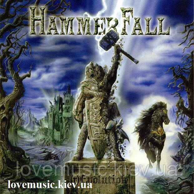 Музичний сд диск HAMMERFALL (r) Evolution (2014) (audio cd)