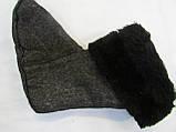 Меховая вставка в обувь(мутон) люкс, фото 3
