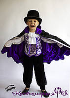 Дракула, детский карнавальный костюм на Хэллоуин (код 80/26)