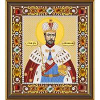 Д 6124 Св Мч Царь Николай Новая Слобода Набор для вышивания бисером