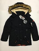 Зимняя куртка парка для мальчиков на 14 лет