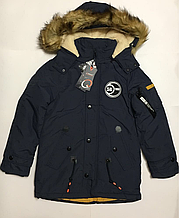 Зимняя куртка парка для мальчиков 12 лет