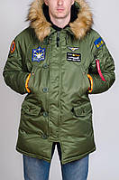 Стильная коллекция парок Аляска для практичных мужчин. Хорошее качество. Удобная парка. Купить. Код: КДН2390