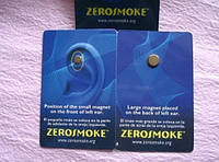 Магниты ZeroSmoke от вредных привычек, аллергии. Золотое покрытие, Оригинал