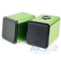 Колонки акустические Divoom Iris-02 USB Green
