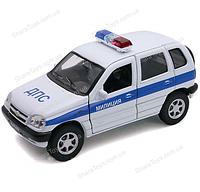 "Машинка Welly ""NIVA CHEVROLET"" Милиция ДПС"