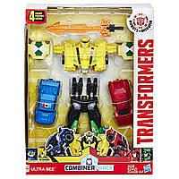 Трансформеры Роботы под прикрытием Ультра Би  Transformers Robots in Disguise Combiner Force Team Ultra Bee