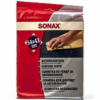 Sonax 419200 Carcare Cloth замшевая салфетка для удаления влаги с авто 54x43 см