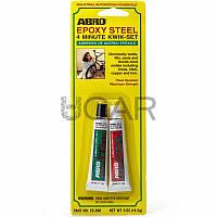 Abro ES-508 Epoxy Steel 4-минутный эпоксидный клей для металла, 14,2 г