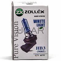 Zollex 60524 HB3 (9005) Pure Vision (12V, 60W) галогеновая лампа