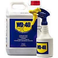 WD-40 Универсальная проникающая смазка с распылителем, 5 л