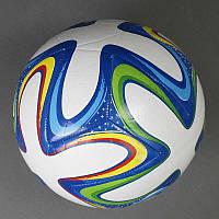 Мяч футбольный 779-246 А (60) мягкий PVC, вес 400-420 грамм, баллон с ниткой, 1 вид