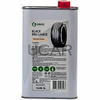 """Grass Полироль для шин """"Black Brilliance"""" на силиконовой основе, 1 л"""