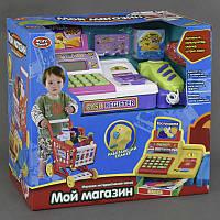 """Набор для детской игры """"Мой магазин"""" 7562 B (8/2) подсветка, звук, на батарейках, в коробке"""