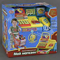 """Набор для детской игры """"Мой магазин"""" 7562 А (8/2) подсветка, звук, на батарейках, в коробке"""
