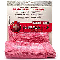 ProSwissCar MF-02 Салфетка из микрофибры 35х40 см розовая