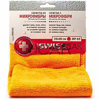 ProSwissCar MF-03 Салфетка из микрофибры 35х40 см оранжевая