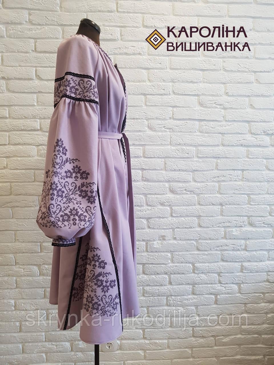 ... Заготовка непошита для вишивання бісером або нитками жіночої сукні  вишиванки БОХО етно c901c5d387d45