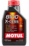 Motul 8100 X-cess SAE 5W-40 синтетическое моторное масло, 1 л