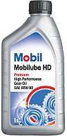 Mobil Mobilube HD 80W-90 GL-5 трансмиссионное масло, 1 л (152661)