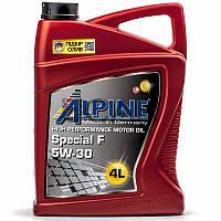Alpine Special F 5W-30 (ACEA A5/B5) синт. моторное масло, 4 л