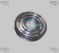 Муфта компрессора кондиционера, шкив, Chery Tiggo [2.4, до 2010г.,AT], Original