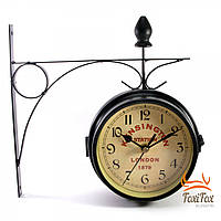 Уличные часы на кронштейне London 26 см