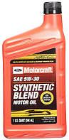 Motorcraft SAE 5W-30 Synthetic Blend полусинтетическое моторное масло, 0,946 л