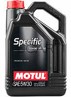 Motul Specific 504 00 507 00 SAE 5W-30 синт. моторное масло, 5 л