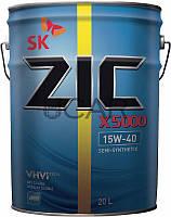 ZIC X5000 15W-40 дизельное моторное масло, 20 л
