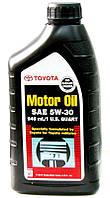 Toyota Motor Oil SAE 5W-30 синтетическое моторное масло, 0,946 л (00279-1QT5W)