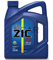 ZIC X5 10W-40 Diesel дизельное моторное масло, 6 л