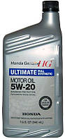 Honda Ultimate Full Synthetic 5W-20 синтетическое моторное масло, 0,946 л (08798-9038)