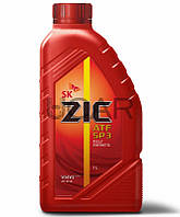 ZIC ATF SP-3 жидкость для АКПП, 1 л (132627)