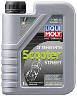 Liqui Moly 3983 Motorbike 2T Semisynth Scooter моторное масло для мототехники, 1 л