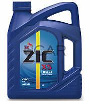 ZIC X5 10W-40 полусинтетическое моторное масло, 6 л