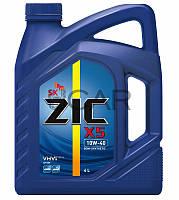 ZIC X5 10W-40 полусинтетическое моторное масло, 4 л